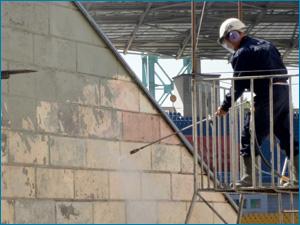 Профессиональная чистка фасадов здания в Самаре