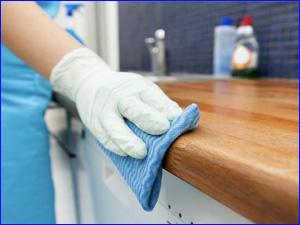 уборка кухни специалистами клининговой компании