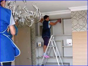 уборка и чистка квартиры