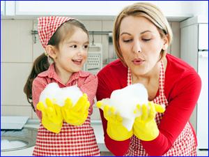 уборка дома для девочек