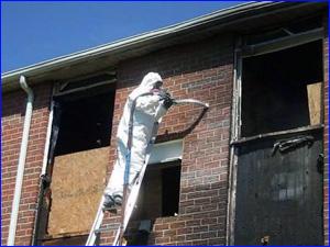 Уборка и чистка дома после пожара