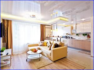 Чистая квартира после влажной уборки