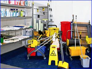 Инвентарь для уборки квартиры или комнаты