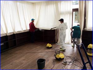 Генеральная уборка комнаты