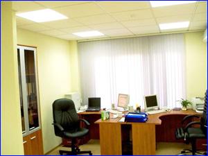 Чистый кабинет сотрудников после проведения уборки