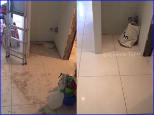 Пример уборка квартиры клининговой компанией