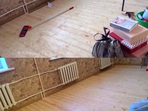 Уборка квартиры после ремонта ДО и ПОСЛЕ